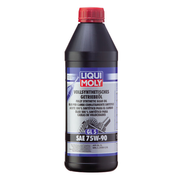 1414 Vollsynthetisches Getriebeöl (GL5) SAE 75W-90 1L / Synthetic Gear Oil 1L